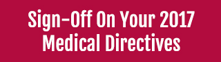 Sign-Off on Medical Directives